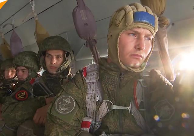 俄罗斯海军陆战队日