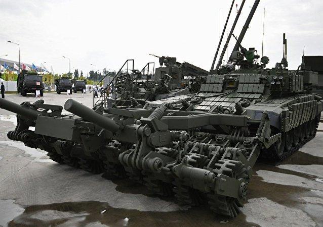 BMR-3MA型装甲扫雷车(资料图片)