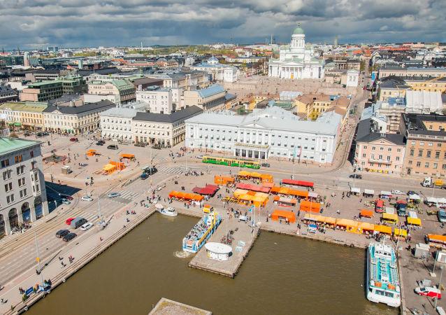 芬兰首都赫尔辛基