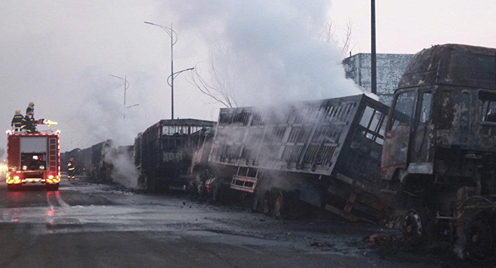 张家口爆炸事故初步原因系运输乙炔车辆爆炸