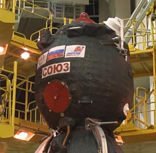 「聯盟MS-11」飛船檢查