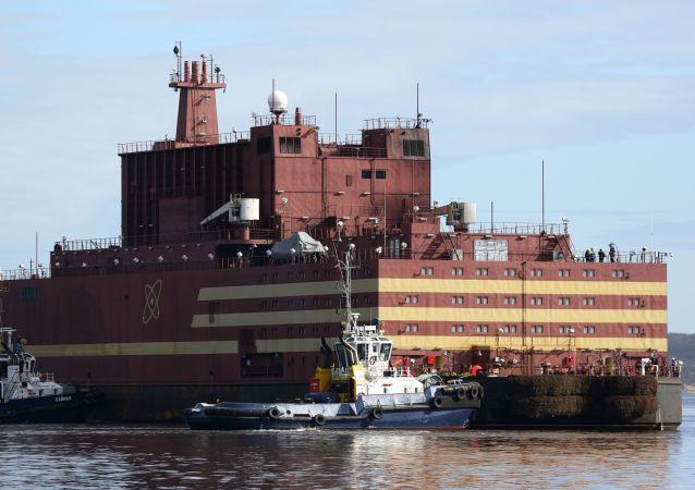 消息人士:世界首座浮动核电站的测试工作即将顺利完成