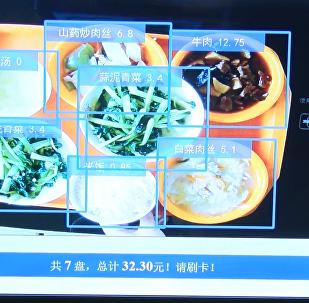 上海食堂現智能菜品識別計價系統