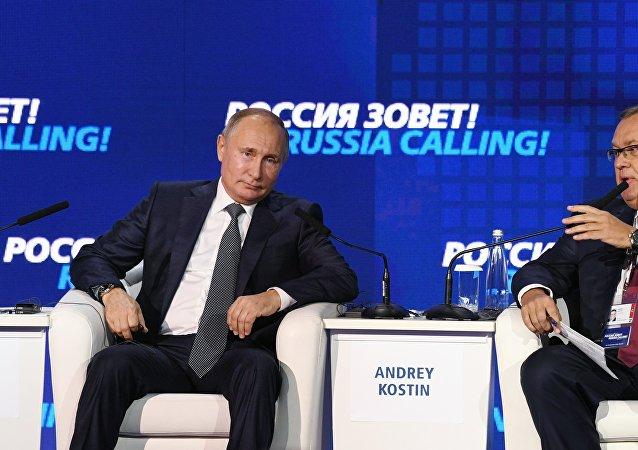普京:對俄制裁導致歐盟國家損失40萬個就業崗位