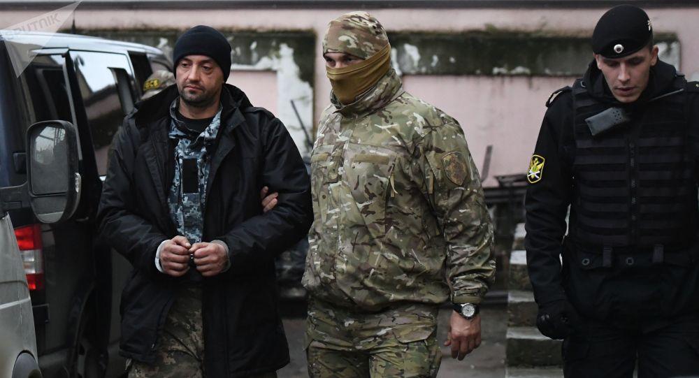 媒体:俄或在乌选举后用乌水兵交换被基辅关押的俄公民