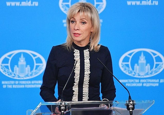 俄外交部新聞發言人瑪麗亞·扎哈羅娃