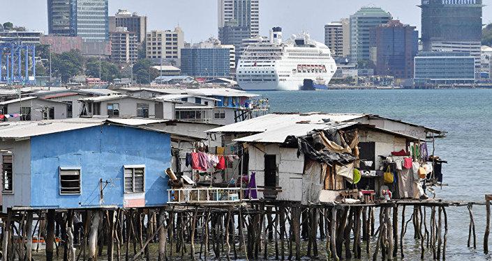 巴布亞新幾內亞首都莫爾茲比港