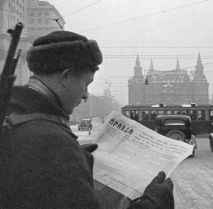"""""""无处可退,身后就是莫斯科"""""""