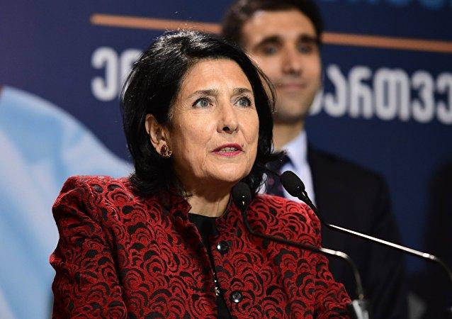 格魯吉亞中選委:祖拉比什維利以59.52%支持率贏得總統大選