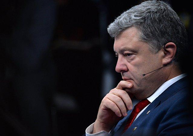 乌克兰总统彼得·波罗申科