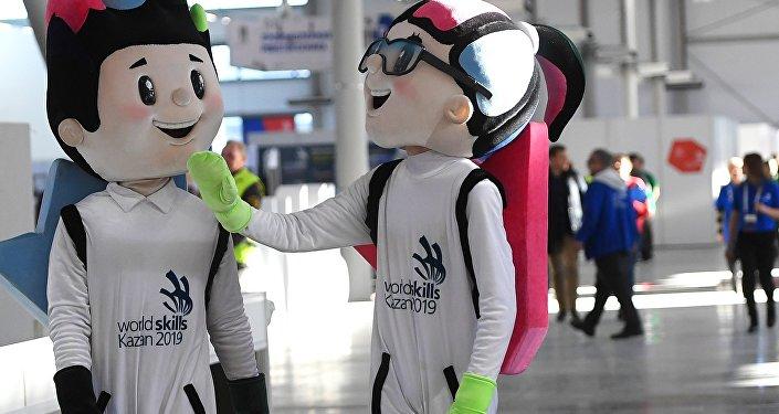 第45屆喀山2019世界技能冠軍賽官方吉祥物