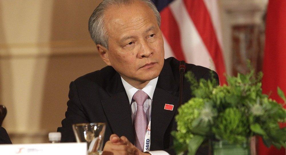 中國駐美大使崔天凱
