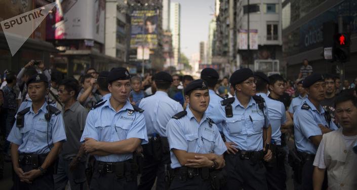 中国外交部称北京准备向香港派军是假新闻