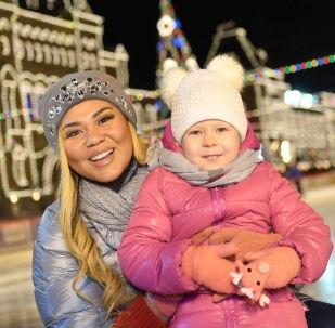 红场上的古姆冰场和古姆集市于11月29日揭幕