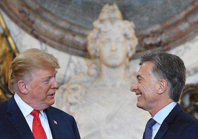 白宮:特朗普與阿根廷總統討論中國的「掠奪性經濟活動」