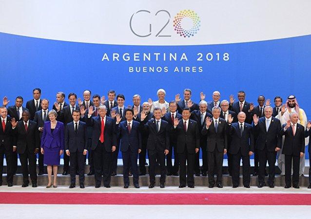 G20峰會在阿根廷首都開幕