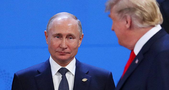 G20峰会期间特朗普未与普京握手致意