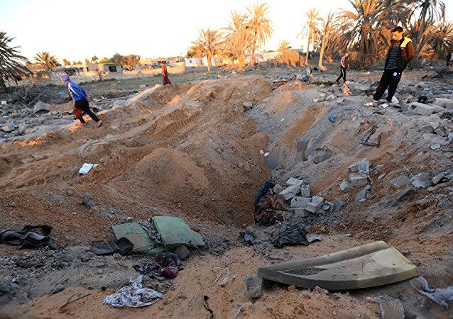 美國非洲司令部:美軍在利比亞消滅11名恐怖分子