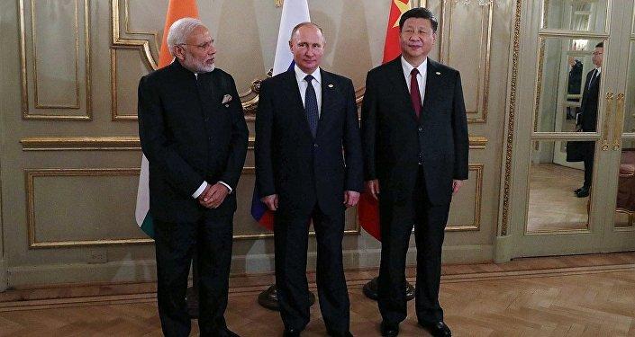 「俄羅斯-印度-中國」形式的會談 (2018年11月30日)