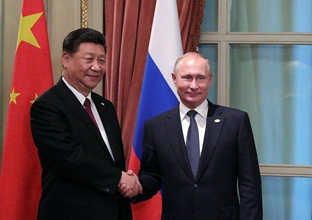 中国国家主席习近平在布宜诺斯艾利斯会见俄罗斯总统普京 (2018年11月30日)