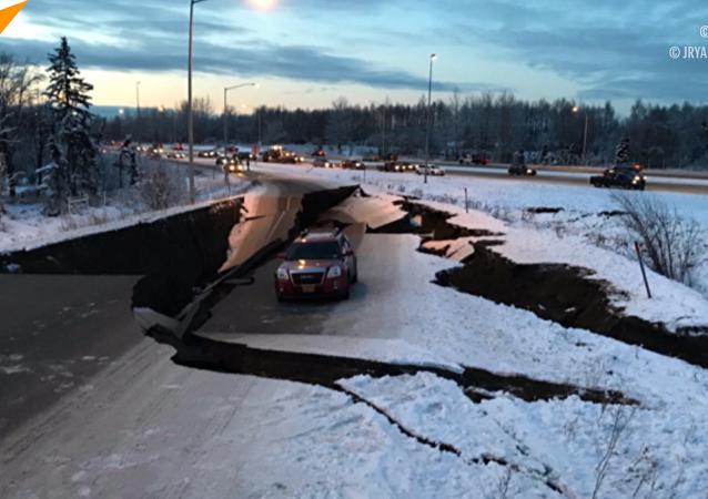 美阿拉斯加州发生7.2级地震