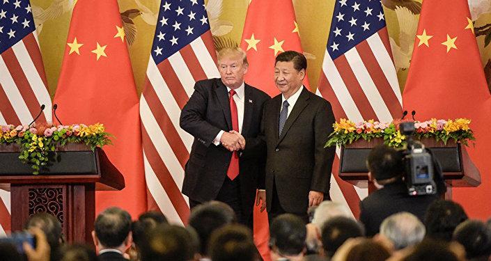 美國總統:美中關係實現「大躍進」