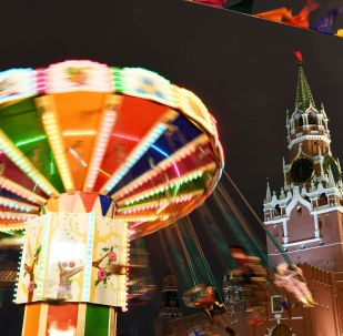 莫斯科新年装饰