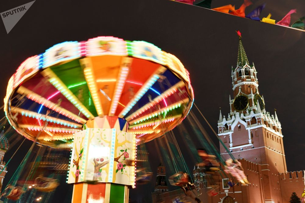 莫斯科新年裝飾
