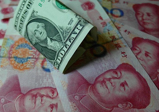 """中国外交部:美将中国列为""""汇率操纵国""""是对国际规则的公然践踏和挑衅"""