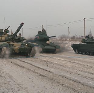 三代坦克零下20度同台竞技
