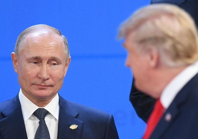 俄总统新闻秘书:普京与特朗普有机会会晤 但不清楚是否将在大阪举行