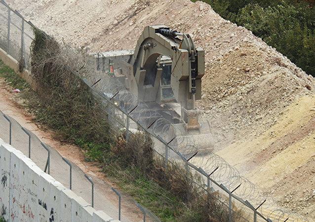 以色列军队发现一条真主党从黎巴嫩挖掘的地道