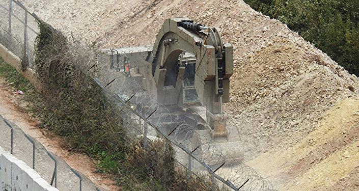 以軍在黎巴嫩邊境附近發現第5條跨境地道