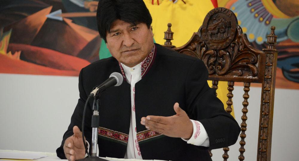 埃沃·莫拉莱斯宣布辞去玻利维亚总统职务