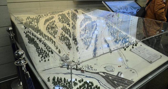 「博布羅維洛格」遊樂場滑雪場路線圖