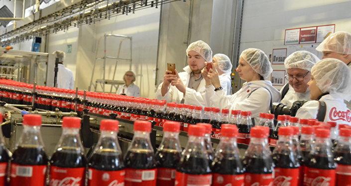可口可樂工廠媒體行參與者