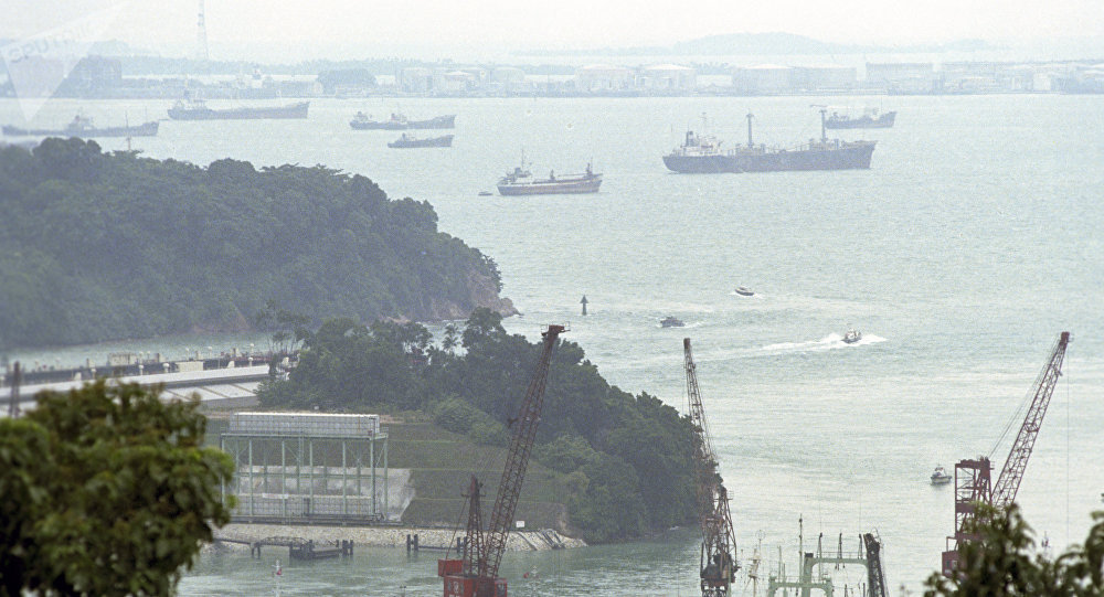 馬來西亞與新加坡圍繞水空域再現爭執