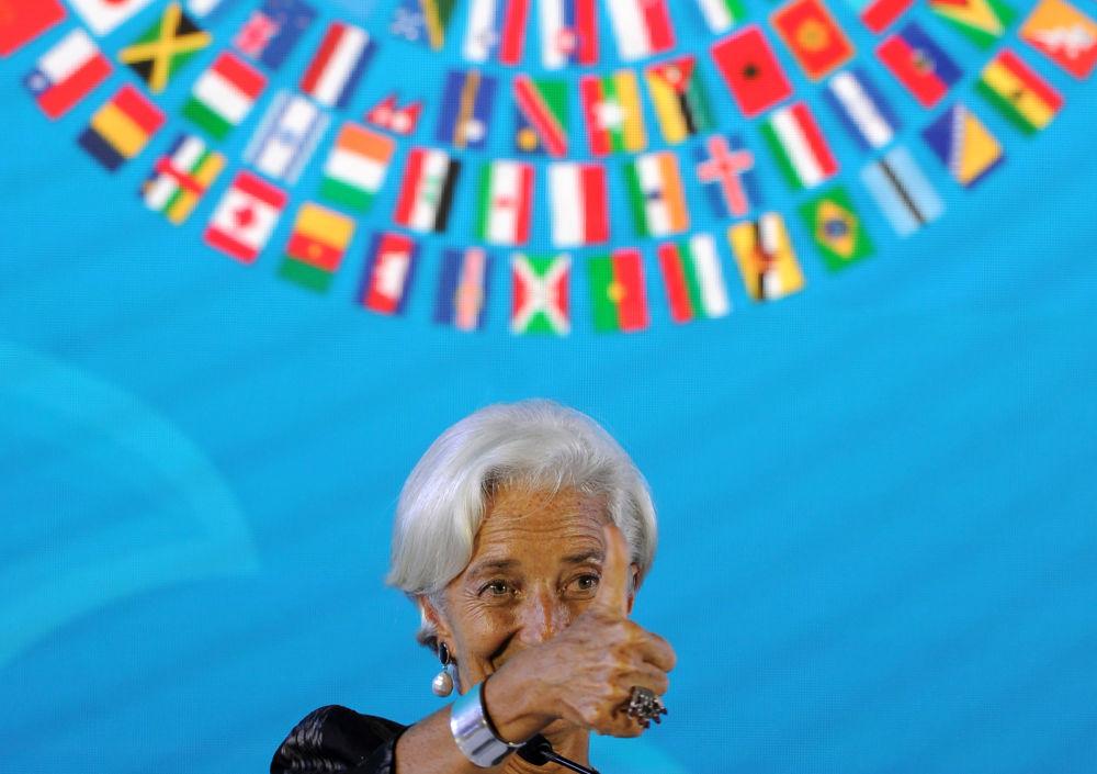 國際貨幣基金組織總裁克里斯蒂娜·拉加德