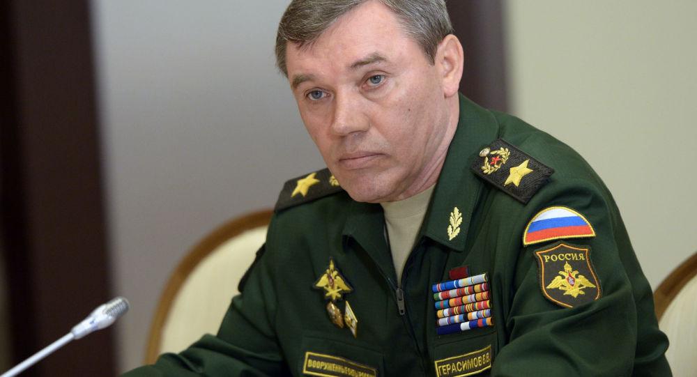 俄羅斯武裝力量總參謀長瓦列里·格拉西莫夫