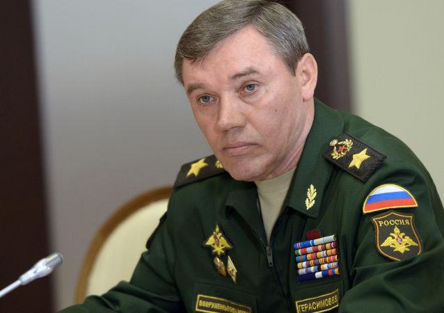 俄罗斯武装力量总参谋长瓦列里•格拉西莫夫大将
