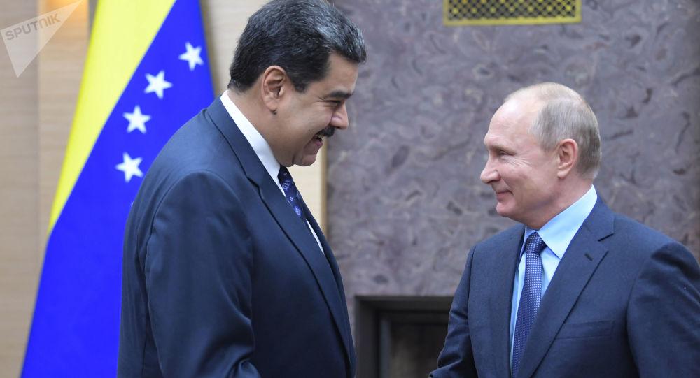 普京:俄方譴責任何武力改變委內瑞拉局勢的企圖