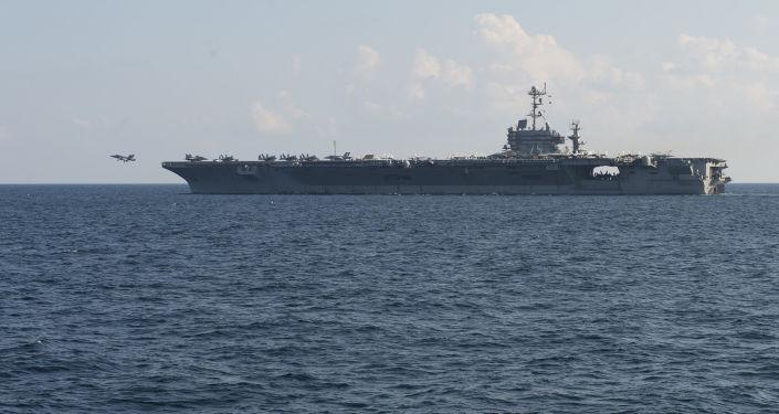 美軍「哈里·杜魯門」號航母