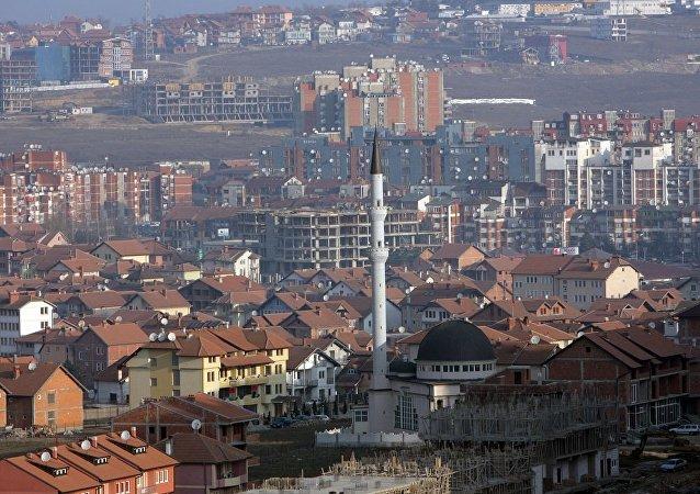 科索沃首都普里什蒂納