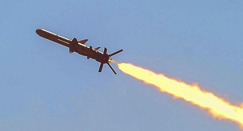 乌克兰在黑海进行了巡航导弹试射