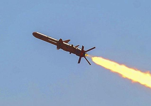 烏克蘭在黑海進行了巡航導彈試射