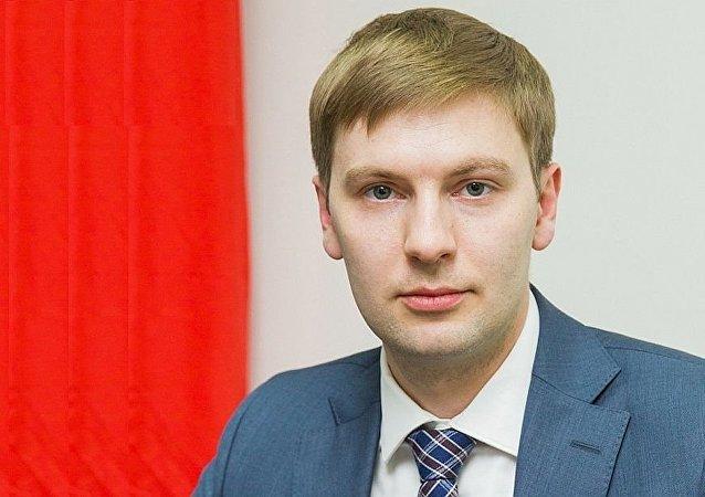 俄联邦工商会驻东亚地区代表处(北京)首席代表帕维尔∙库德里亚夫采夫