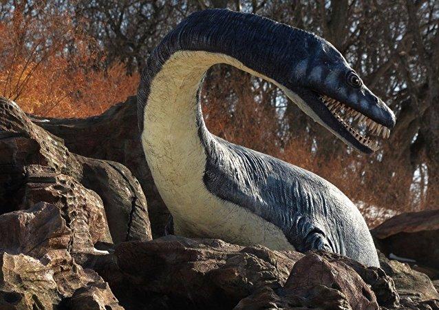 """科学家:恐龙时代的""""海怪""""长这样!"""