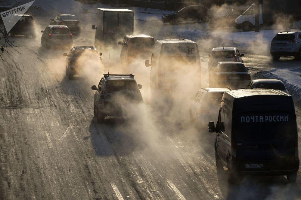 新西伯利亞市的道路交通
