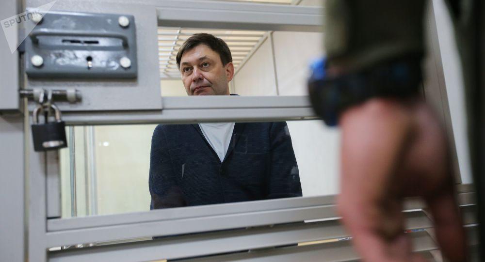俄常驻欧安组织代表:俄欧外长讨论过维辛斯基被捕一事