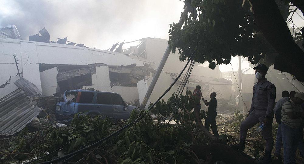 多米尼加瓦斯爆炸死亡人數升至6人 另100多人受傷